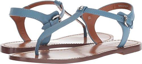 Coach Women's T-Strap Sandal Chambray Leather 8 M US