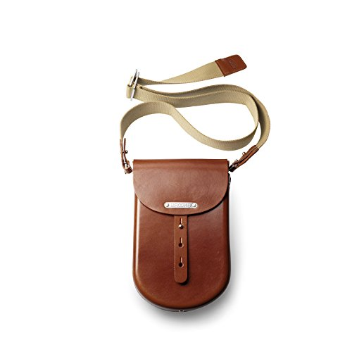 BROOKS TASCHE B2 MOULDED LEATHER BAG - BROWN