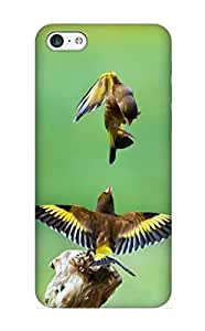 meilinF000ipod touch 4 Ikey Case Cover Skin : Premium High Quality Goldfinch Birds Case(nice Choice For New Year's Day's Gift)meilinF000