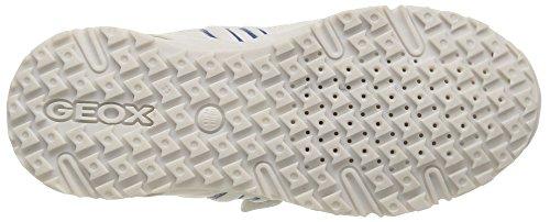 Geox J Bernie - Zapatillas de deporte para niño Weiß (WHITE/BLUEC0006)