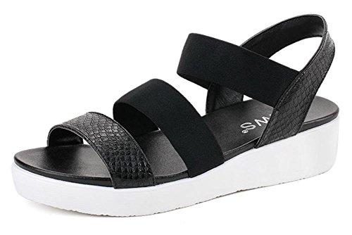 2017 nuevas sandalias planas del verano planas con salvaje en las sandalias 2