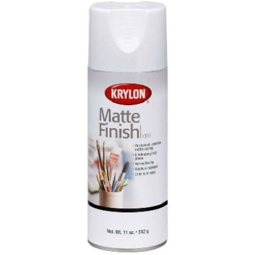 KRYLON DIVERSIFIED BRANDS K01311007 Krylon 1311 Aerosol Matte Satin Finish Spray Enamel 11 Ounce (Clear Satin Spray Paint)