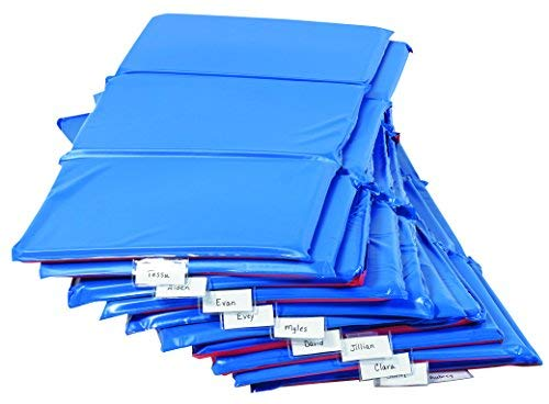 Angeles AEL7121P10 Germ-Free 1 Rest Mat - 10 Pack 3-Section Mats, 48