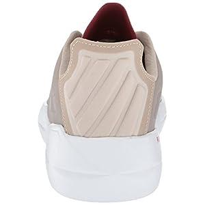 K-Swiss Men's Functional Sneaker, Silver Cloud/Merlot, 10 M US