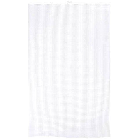 Darice Bulk Buy DIY #7 Mesh Plastic Canvas Ultra Stiff Clear 13-5/8 x 22-1/2 (6-Pack) 33409 7 Mesh Plastic Canvas
