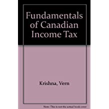 Fundamentals of Canadian Income Tax