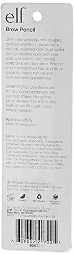 e.l.f. Essential Instant Lift Eyebrow Pencil Neutral Brown (2 Pack)
