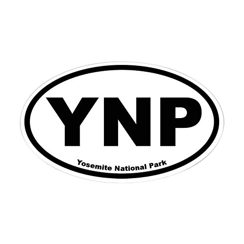 National Park Car (CafePress - Yosemite National Park Oval Sticker - Oval Bumper Sticker, Euro Oval Car Decal)