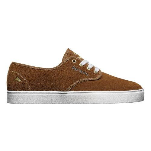 EmericaThe Romero Laced - Scarpe da Skateboard uomo Brown/White