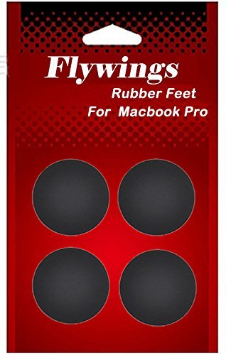 Flywing-4-Pack-Rubber-Feet-Foot-Kit-13-Inch-15-Inch-17-Inch-Replacement-For-Apple-Macbook-Pro-A1278-A1286-A1297