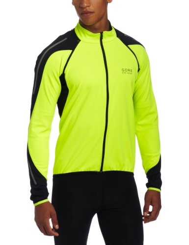 Gore Bike Wear Men's Phantom 2.0 SO Jacket, Neon Yellow/Black, Medium