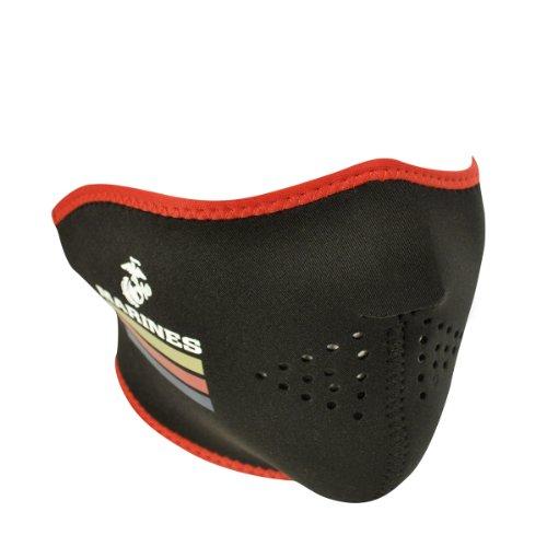 United States Marine Corp Neoprene Half Face Mask - One Size