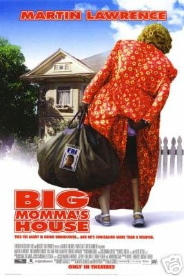 Big Momma's House Double Sided Original Movie Poster 27x40