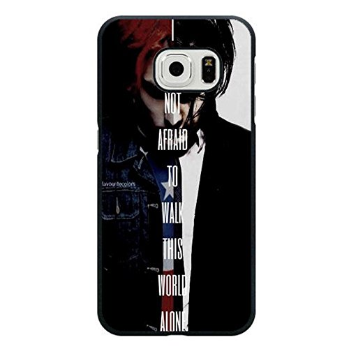 Coque Samsung Galaxy S6 Edge Band MCR Cover Shell Cool Personalized Gerard Way Alternative/Indie Rock Band My Chemical Romance Phone Case Cover for Coque Samsung Galaxy S6 Edge,Cas De Téléphone
