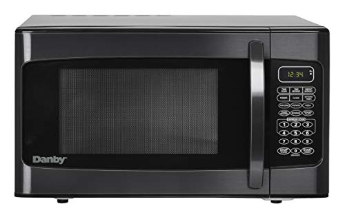 Danby DMW1110BLDB 1.1 cu. ft. Microwave Oven, Black, cu.ft (Best 1.1 Cu Ft Microwave)