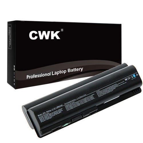 1132us Laptop (CWK 12 Cell High Capacity Laptop Notebook Battery for HP Pavilion DV5-1100 SeriesDV5-1130EG DV5-1130EN DV5-1132US DV5-1133CA DV5-1100 SeriesDV5-1130EK DV5-1130EP DV5-1130ES DV5-1130ET)