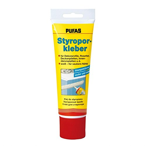 Pufas Styrofoam Glue Tube 0 400 Kg Amazon Co Uk Diy Tools