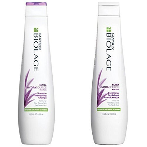 Matrix Biolage Ultra Hydrasource Shampoo & Conditioning Balm Duo, 13.5 Fluid Ounce