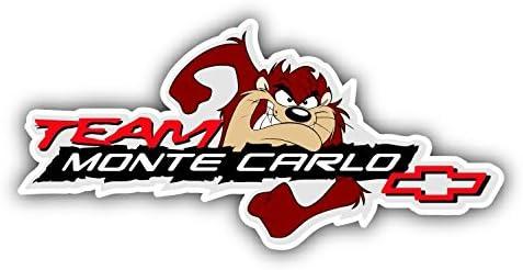 Team Monte Carlo Logo Auto Car Bumper Sticker Decal 6 X 3