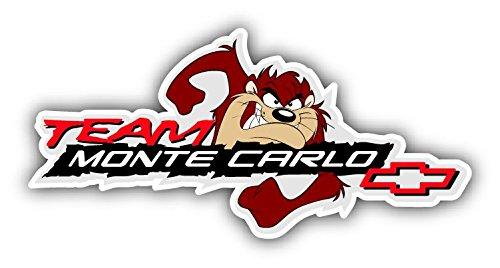 [Team Monte Carlo Logo Auto Car Bumper Sticker Decal 14