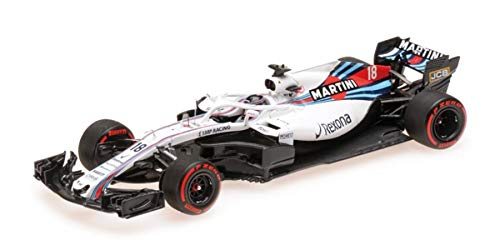 Minichamps Williams Martini FW41 Lance Stroll 2018 for sale  Delivered anywhere in USA