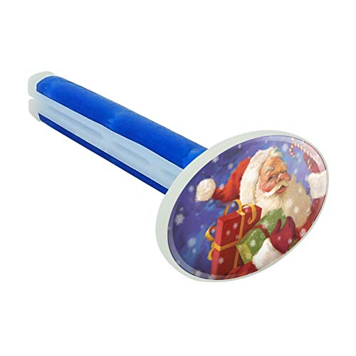 Graphics and More Christmas Holiday Santa Presents Candy Canes Car Air Freshener Vent Clip - New Car Scent
