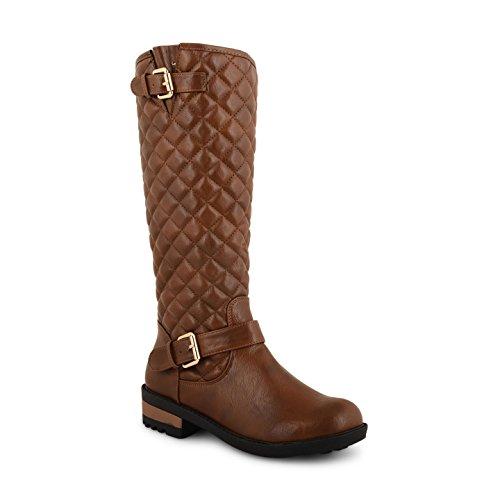 Footwear Sensation - Botas para mujer negro negro marrón