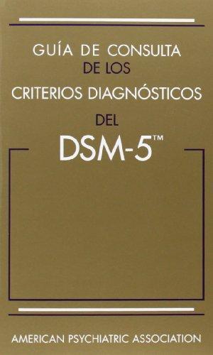 Descargar Libro Guia De Consulta De Los Criterios Diagnósticos Del Dsm-5 American Psychiatric Association