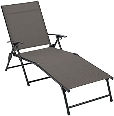 Superb Amazon Com Set Of 4 Living Accents Folding Sling Chaise Camellatalisay Diy Chair Ideas Camellatalisaycom