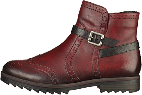 vino Ankle rot schwarz Women red Boots R2278 35 Remonte HPqwI