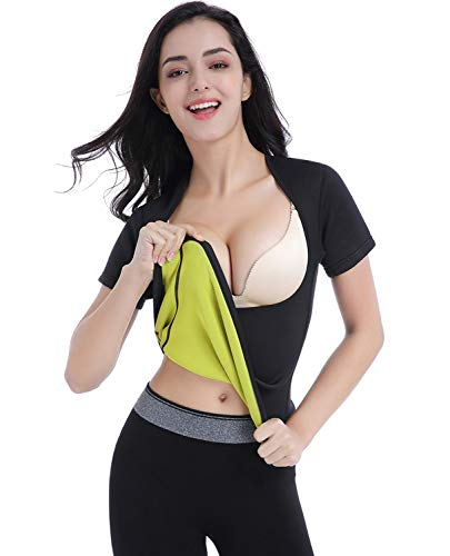 79bea26dc9 Amazon.com   Valentina Womens Hot Thermo Shaper T Shirt