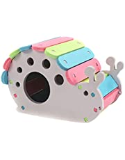 Kesoto Wooden Hamster House Rat Mouse Exercise Natural Funny Hamster Nest Toy