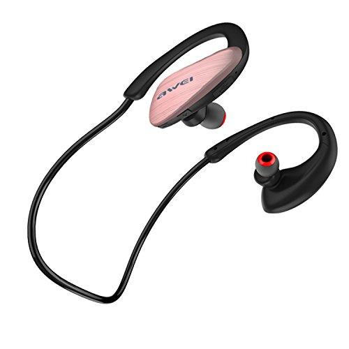 Awei A885BL Waterproof Wireless Sports Headphone (Gold) - 1