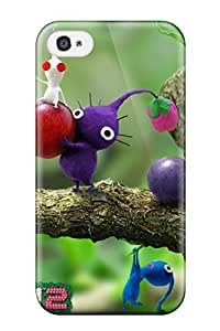 AmandaMichaelFazio Scratch-free Phone Case For Iphone 4/4s- Retail Packaging - Pikmin Video Game Other