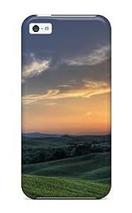 NQgatFz12198oYKRf Case Cover, Fashionable Iphone 5c Case - Sunset In Tuscany