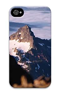 iphone 4 durable cover landscapes nature snow mountain 15 3D Case for Apple iPhone 4/4S