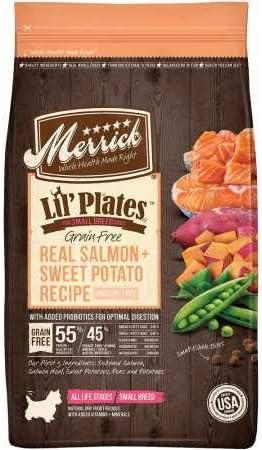 7. Merrick Lil' Plates Grain-Free Dry Dog Food