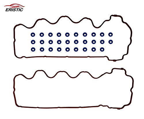 ERISTIC ETF006S Premium Valve Cover Gasket Set For 07-14 Ford Expedition Lincoln Navigator Mark LT Mercury 4.6L 5.4L 3V Triton,