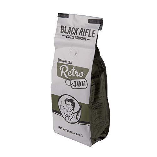 Retro Joe Light Brew Coffee Ground Partnered with Black Rifle Coffee Company