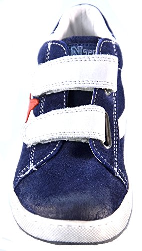 Naturino - Zapatillas para niño Blu/Grigio/Rosso