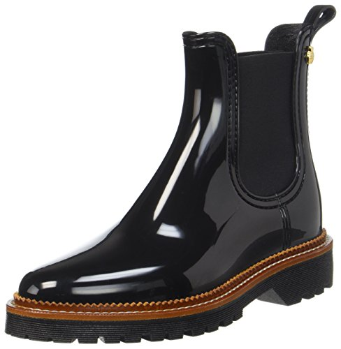 Lemon Jelly Damen April Chelsea Boots Schwarz (nero)