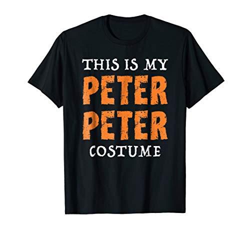 This Is My Peter Peter Costume Shirt Halloween Pumpkin -