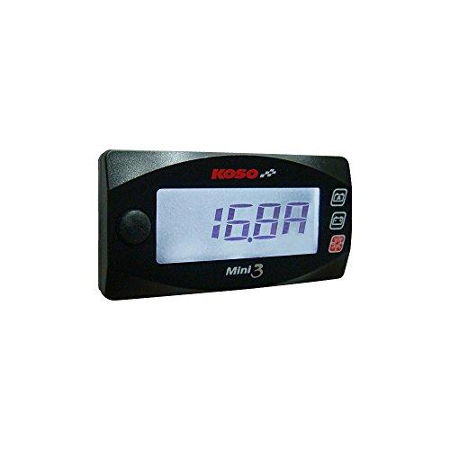KOSO BA003190 Mini 3 Amp and Volt Meter:
