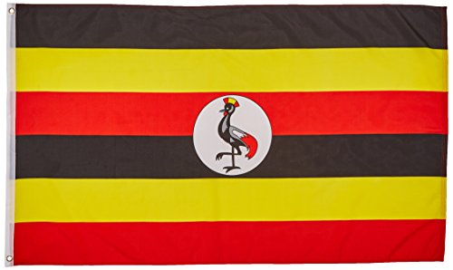 Uganda Flag 3X5 Foot E Poly
