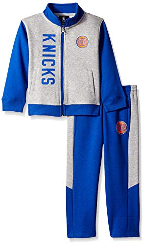 8707c10812a Outerstuff NBA NBA Toddler New York Knicks On The Line Jacket   Pants  Fleece.