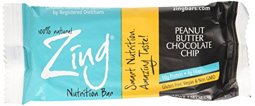 Northwest Zing Nutrition Bar 1.76 oz., PEANUT BUTTER Choc...
