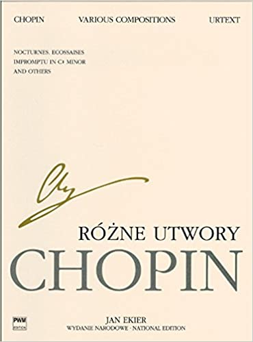 National Edition Songs Frédéric Chopin Vocal and Piano Book Only