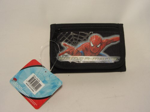 Spiderman Trifold Black Wallet