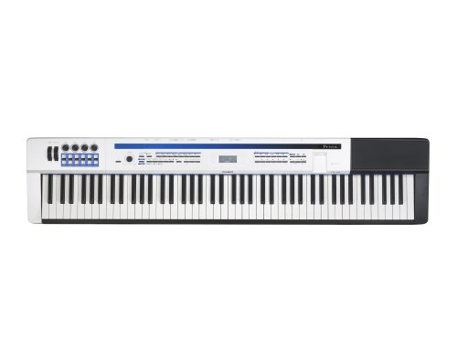 Casio Inc. PX5S 88-Key Privia Pro Digital Stage Piano with Power Supply