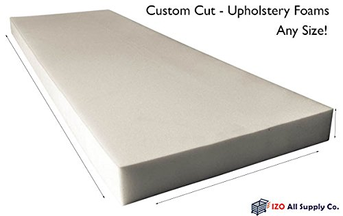 custom cut upholstery foam cushion any density seat replacement upholstery sheet foam padding